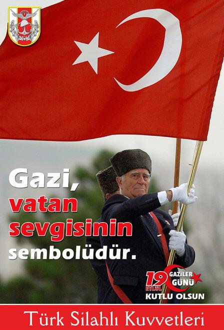Gaziler Günü Poster