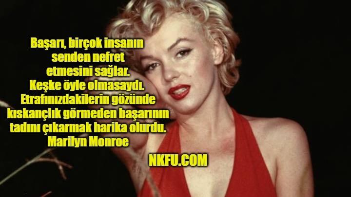Marilyn Monroe Resimli Sözleri