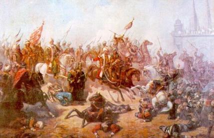 Mohaç Savaşı canlandırması