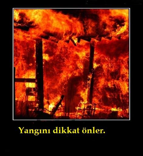 Yangından Korunma Sözleri