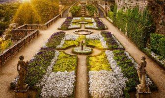 Barok Usulü Bahçe