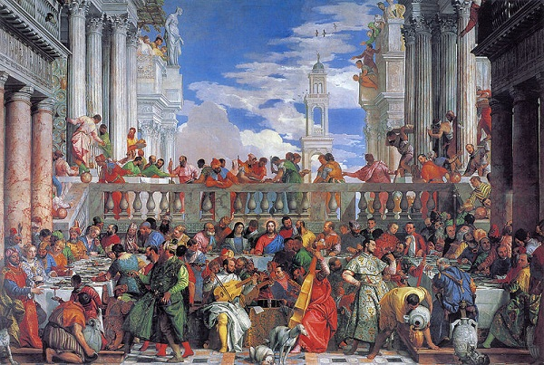 Paolo Veronese - Cana'da ki Düğün Tablosu