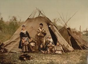 Bir Lapon Ailesi