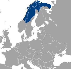 Laponya Haritası