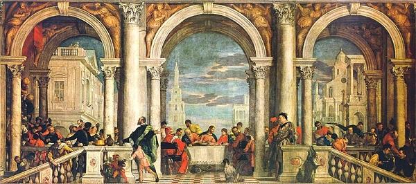 Paolo Veronese - Levinin Evindeki Bayram Tablosu