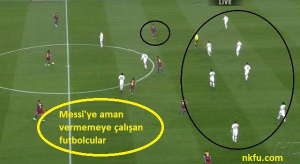 Messi'ye Aman Vermemeye Çalışan Futbolcular