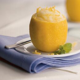 Limon İçinde Tatlı Tarifi