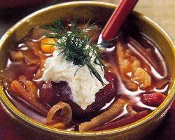 Pancarlı Lahana Çorbası Tarifi