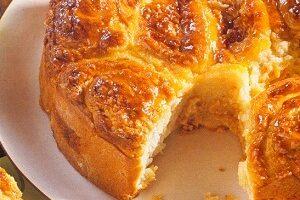 Portakallı Bademli Kek Tarifi