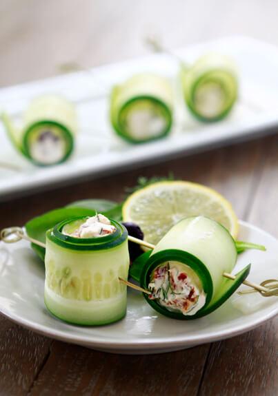 Salatalık Ruloları Tarifi