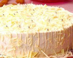 Beyaz İnci Pasta Tarifi