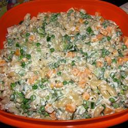 Çedar Peynirli Makarna Salatası Tarifi