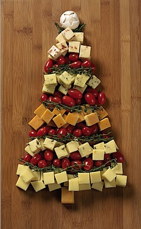 Çedar Peyniri Yılbaşı Ağacı Tarifi