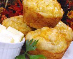 Çedar Peynirli Muffin Tarifi