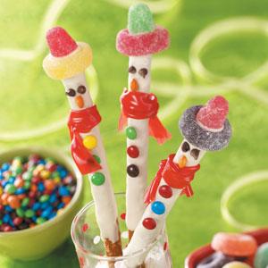 Çikolatalı Çubuk Şekerler Tarifi