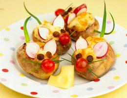 Patates Fareler Tarifi