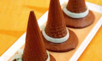 Çikolatalı Cadı Şapkaları Tarifi