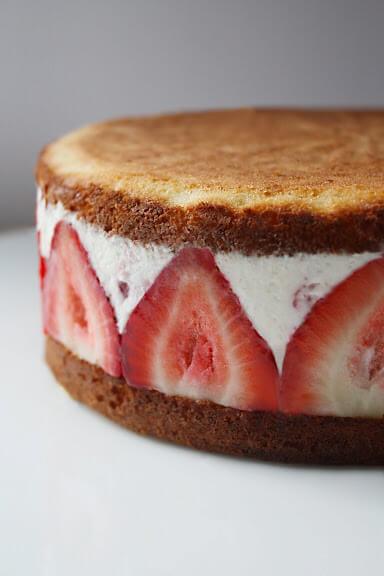 Çilekli Pasta Tarifi