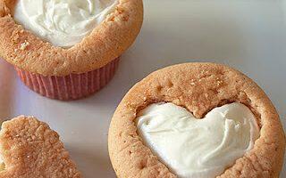 Kalp Şeklinde Cupcake Tarifi