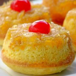 Mini Ananaslı Kek Tarifi