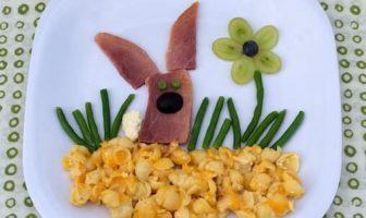 Çocuklar İçin Sevimli Öğle Yemeği
