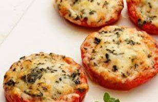 Fırında Parmesanlı Domatesler Tarifi