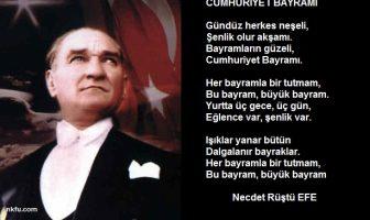 Resiml Cumhuriyet Bayramı Şiirleri