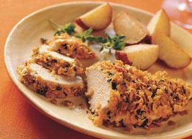 Çıtır Sarımsaklı Tavuk Göğsü Tarifi