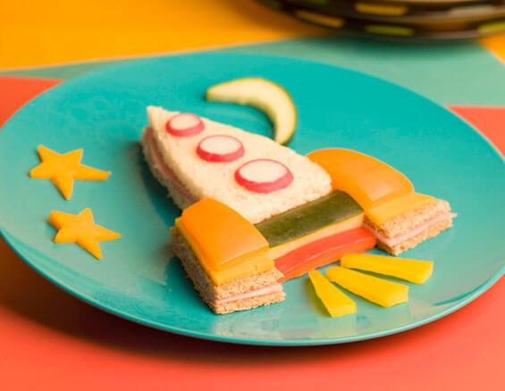 Uzay Mekiği Sandviç Tarifi