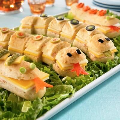 Yılan Sandviçler Tarifi