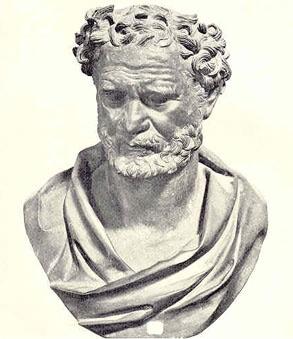 Demokritos Büstü
