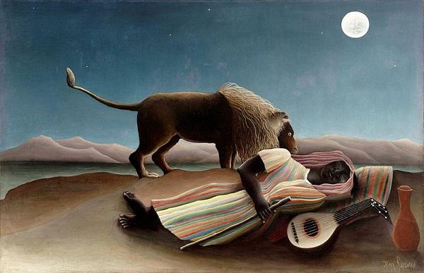 Henri Rousseau - Uyuyan Çingene