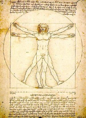Leonardo Da Vicni'nin Vitruvius Adamı
