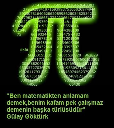 Ünlü sözler resimli matematik ile ilgili sözler anlatımlar