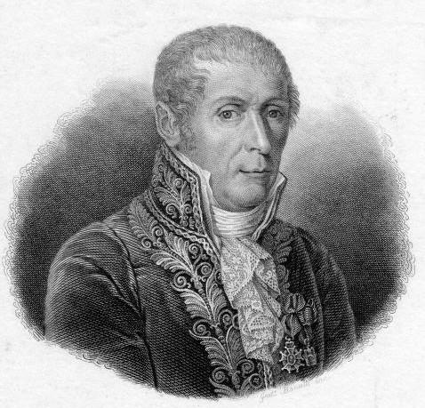 Alessandro Volta (1745 - 1827)