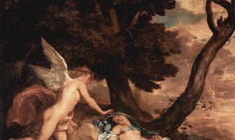 Anthony van Dyck - Amor ve Psyche