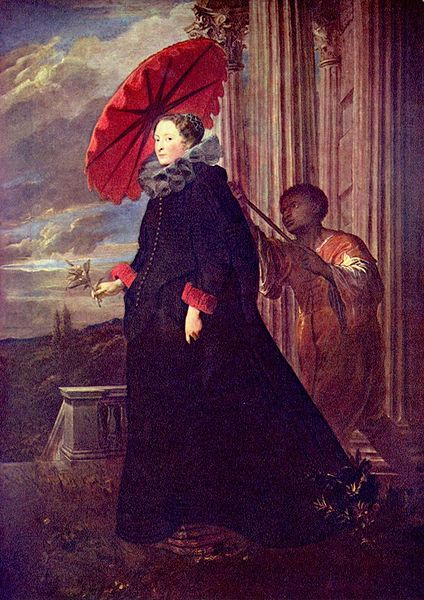 Anthony van Dyck - Elena Grimaldi