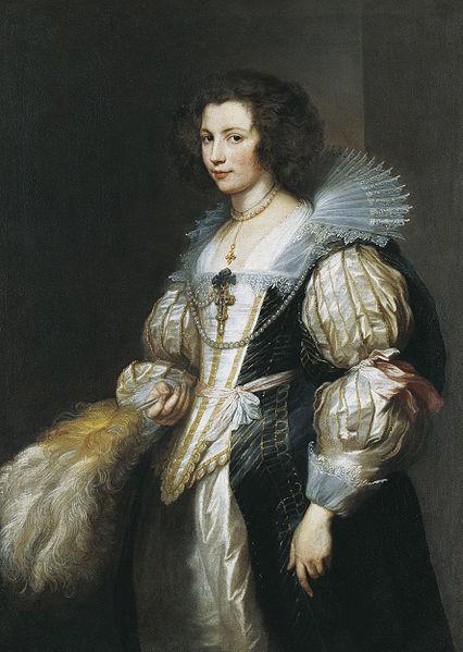 Anthony van Dyck - Marie-Louise de Tassis, Antwerp 1630