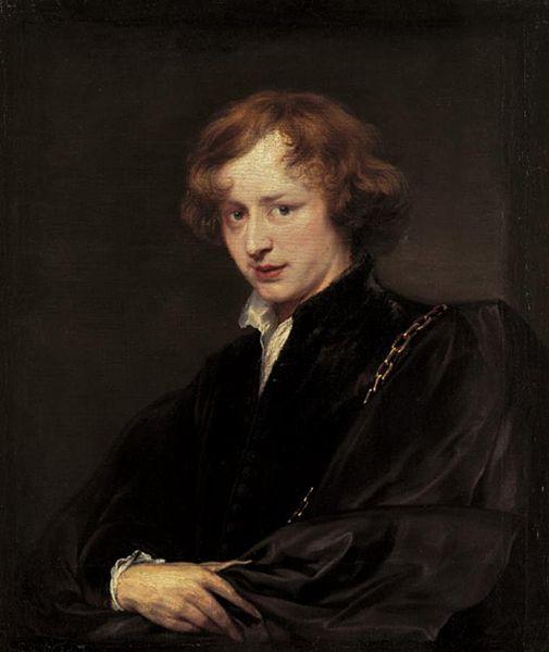 "Anthony van Dyck - ""Otoportre"""