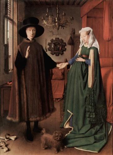 Jan van Eyck - Arnolfini'nin Evlenmesi