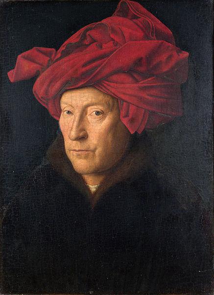 Jan van Eyck - Otoportre