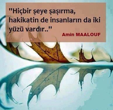 Amin Maalouf Sözleri
