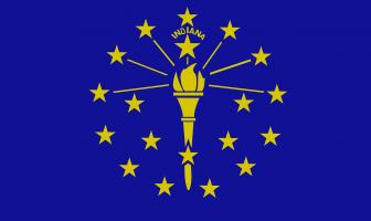 Indiana Eyalet Bayrağı