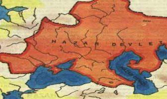Hazarlar Devleti Haritası