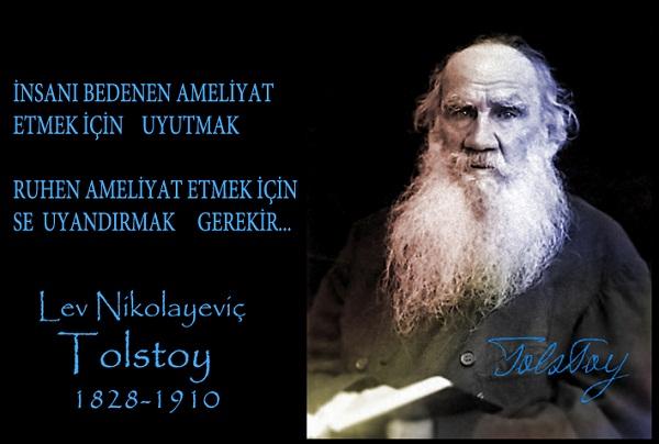 Tolstoy resimi güzel sözleri