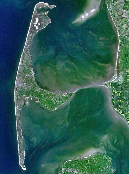 Sylt Adası - Almanya Uydu Fotoğrafı