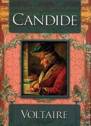 Voltaire'in Candide isimli kitabının kapağı
