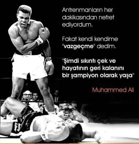 Muhammed Ali Güzel Sözleri
