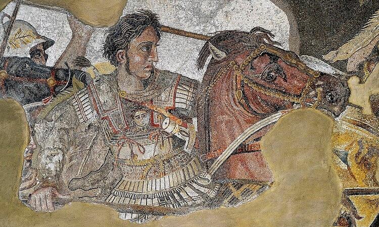 Alexander Mozaik, Faun Evi, Pompeii