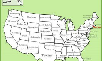 Rhode Island Haritası